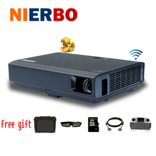 Ultra Bright Full HD Projectors 1080P 3D LED Projector Android Wifi Bluetooth with HDMI USB for Movies Business