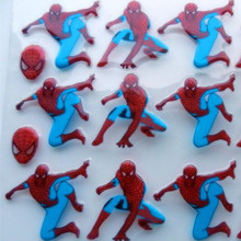 MJ147 Spider hero Transfer food chocolate chocolate transfer paper transfer sheet birthday cake baking mold