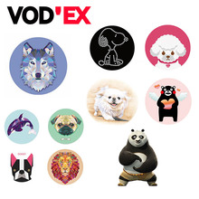 Vodex Round 3D Animal for Smartphones and Tablets Flexible Mobile Phone Holder POP for iPhone 7 huawei xiaomi
