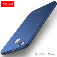 MSVII Original Case For Redmi 4X Luxury Ultra Thin 360 Full Protection Frosted PC Hard Back Cover Anti-knock For Redmi 4X(China)