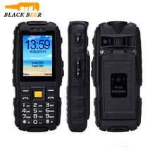 SUPPU X6000 IP67 Waterproof Mobile Phone with 6000mAh Big Battery Power Bank Function Dual SIM Card High-light Torch FM Radio
