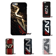 For Xiaomi Redmi 4 3 3S Pro Mi3 Mi4 Mi4C Mi5S Mi Max Note 2 3 4 Popular Mass Effect N7 Logo Soft Silicone Case