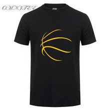 Omnitee New Summer Hip Hop Basketballer T Shirt Men Casual Cotton Short Sleeve Funny Printed T-shirt Mans Tshirt OT-881(China)
