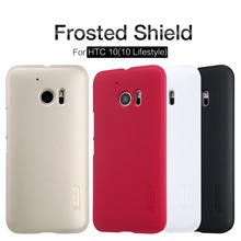 Nillkin Super Frosted Shield Case Back Cover For HTC M10/HTC 10 Lifestyle/htc 10 (5.2inch) High Quality Case free shipping(China)