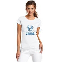 2017 Women La Duodecima real champions Cardiff Final Campeones T-Shirt Lady Clothes Madrid T Shirt Short Sleeve Girl W1706011