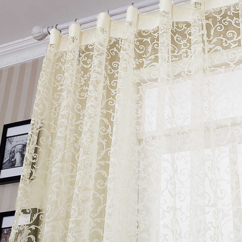 Fashion curtain quality finished product double faced flock printing screens small  shalian
