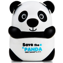 1 pc panda pencil sharpeners for kids plastic body alloy steel knife mechanical pencil cutting machine Deli 0518