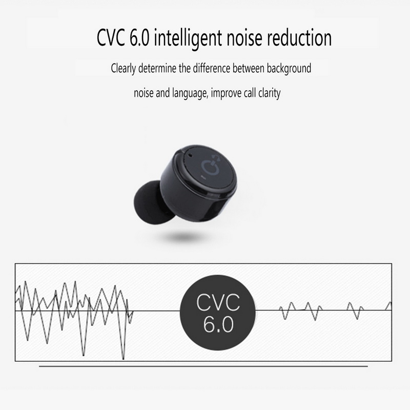 X2T In-Ear wireless bluetoot Stereo Invisible Sport microphone Earphone Magnetic Mini bluetooth Earbuds headset for iphone 5 6 7