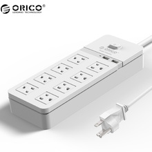ORICO SPT-S8U2 Safety Surge Protection Power Socket with usb power strip IC for Ipad Iphone(China)