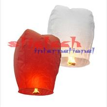by dhl or ems10000pcs Multicolors Paper SKY LANTERNS Flying Paper Sky Lanterns
