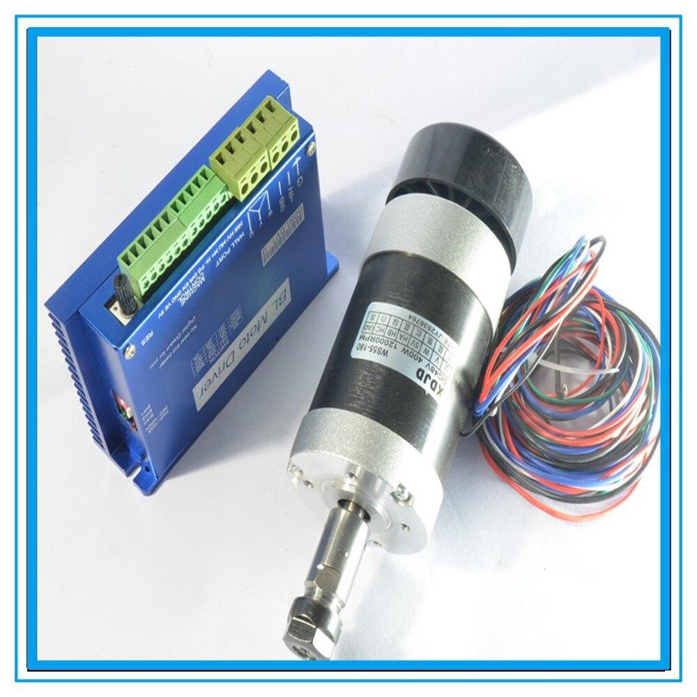 DIY CNC engraving machine 400W brushless DC motor, brushless motor drive spindle motor drive kit<br><br>Aliexpress