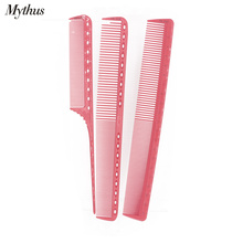 Japan Pro Resin Haircut Comb Set In 3 Designs/Lot Durable Laser Measurement Heat Resistant Hairdressing Cut Comb For Barber