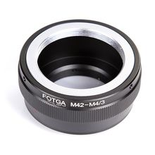 FOTGA M42 Mount Lens To Micro 4/3 M4/3 Adapter Ring for Olympus E-P1 Panasonic G1 G7 GH1 GF1 GF7 EP-1 E-PM2 E-PL7