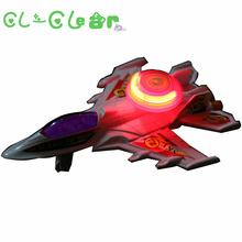 New 1pcs Pull back  luminous aircraft Model airplane fun Vehicles toys for children