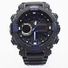 blue waterproof watches for men original man watchs esportivo mens top brand digitales watch military clock cheap useful outdoor(China)