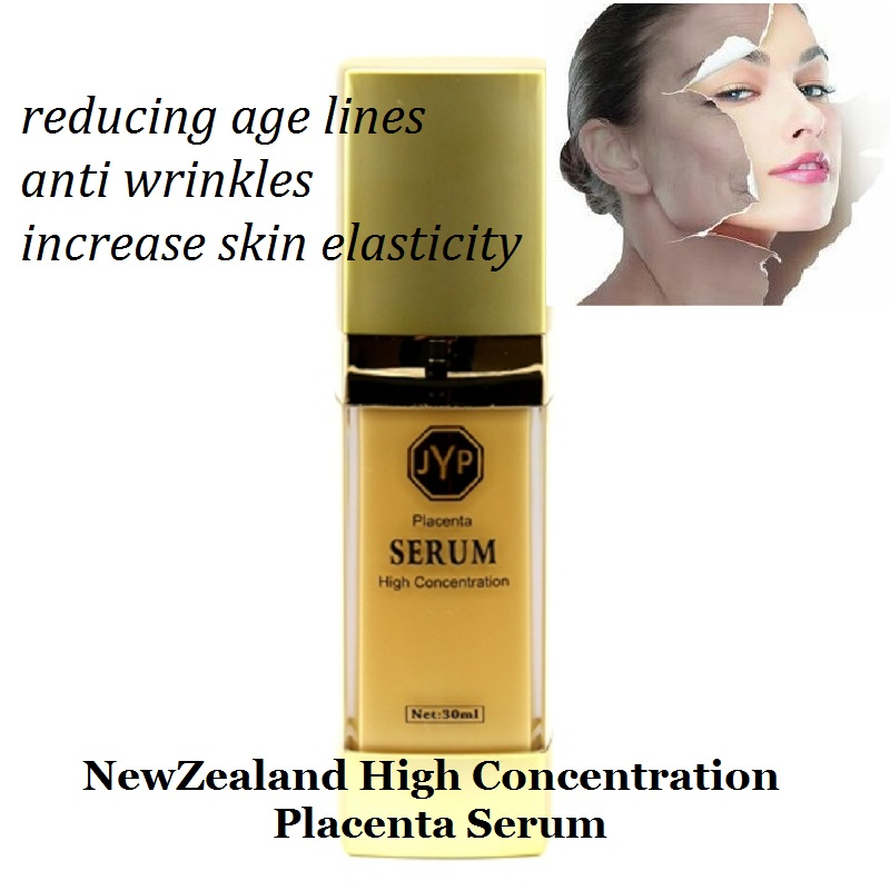 100%NewZealand High Concentration Quality Sheep Placenta Serum Reducing age lines &amp;wrinkles Increase skin suppleness elasticity<br>