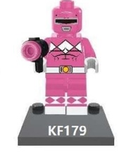 Single Sale Super Heroes Pink Power Weeping Angel Rocket Nightmare Batman Building Blocks Collection Toys for children KF179(China)