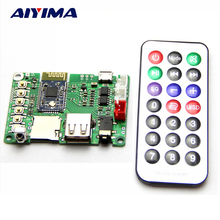 Buy Aiyima Bluetooth Amplifier Board 4.1 Stereo BK3254 Receiver AT Serial Port Support FM U disk TF Card Infrared Remote Control for $12.08 in AliExpress store
