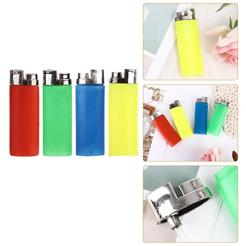 Funny Gift Joke Prank Trick Toy Fake Lighter Water Squirting Lighter Party HK