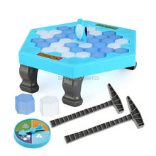 MAYLEGO Penguin Ice Breaking Save The Penguin Fun Family Toy For Children Desktop Game Who Make The Penguin Fall Off Lose Game