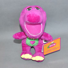 "Free Shipping EMS 100/Lot Q Baby Barney Plush Cartoon Characters Doll 9""(China)"