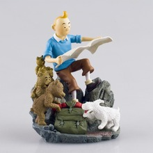 1X The Adventures of Tintin Figure Set DESTINATION MOON New