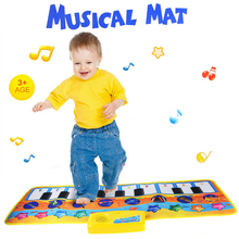 HY2303 Play Mat Baby Toys 80x28cm Musical Big Size Music Tapetes Carpet Music Mat Kid Child Piano Music Product