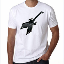 LEOMAN 2017 Summer Funny Creative guitar Design T Shirt Men's High Quality Custom Printed Tops Hipster Tees