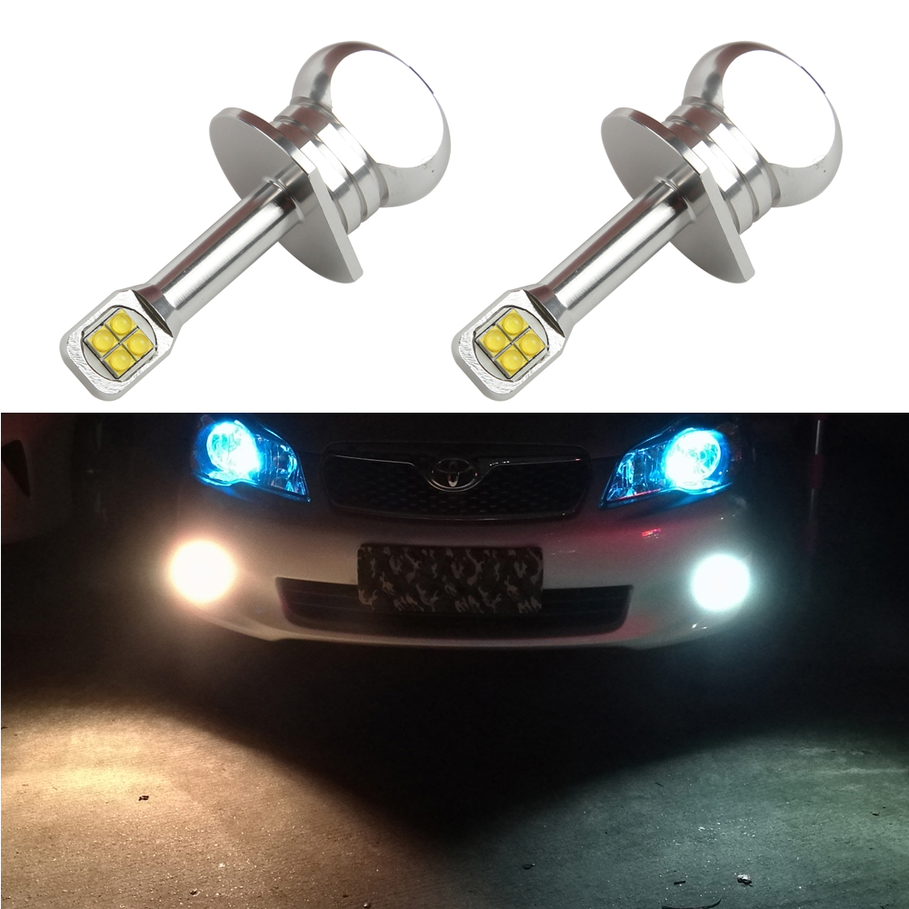 2x New 40W CREE Chip XBD 390LM 12V 24V H1 LED Fog Light Bulbs H1 Auto Car Daytime Running Lamps Driving Bulb 6000K White<br><br>Aliexpress
