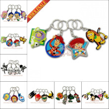 DHL OR EMS 500PCS Spongebob Toy Story Mario PVC Pendants Charms For  Keychains Necklace Bags Accessories