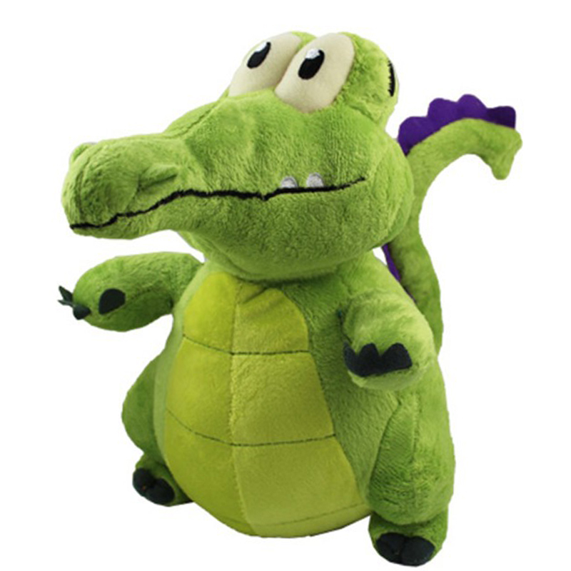 2017 New Arrival 30cm Big Size Very Cute Lovely Where is My Water Bath Little Crocodile Soft Stuffed Plush Toys Children Doll(China)