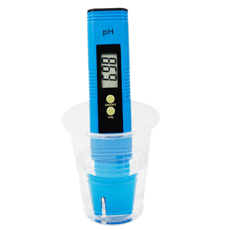 by dhl/fedex 100pcs/lot Pocket Pen Water PH Meter Digital Accuracy 0.01 Automatic Calibration Tester for Aquarium Pool 40%off 6