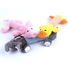 Cute Plush Chews Pet Dog Toys Treat Tooth Clean Design Chien Honden Speelgoed Squeaker For Puppy Dog Shop Manufacturers DDMZBB