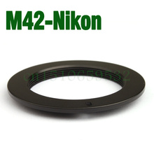 Free shipping 2pcs M42 Lens TO FOR AI Adapter D3000 D5000 D90 D700 D300S D60 D3X Metal M42-AI