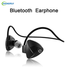 HANGRUI  SH03D Smart Sport wireless headphones bluetooth earphone 4.0 Handsfree Sport Headset with Mic For xiaomi Smartphone