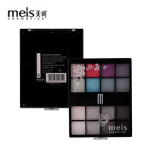 MEIS Brand Eye shadow Palette 16 Color Eye Shadow Professional Makeup Eye shadow long lasting Perfect Quality Glitter Eyeshadow(China)