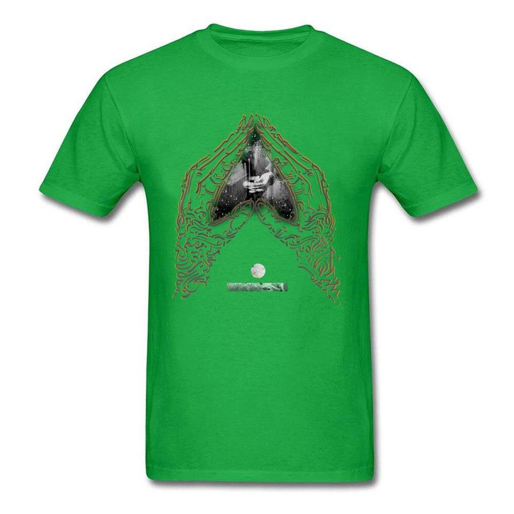 Heart Mudra on blank_green
