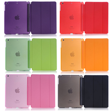 For Apple iPad mini 4 Sleeping Wakup Ultral Slim Leather Smart Cover Case(China)