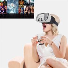 Hot Selling SHINECON VR Box Virtual Reality 3D Glasses Cardboard Movie Game For 4.7-6 Inch Smartphone Samsung iPhone Wholesale