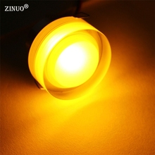 ZINUO 1W Acrylic LED Downlight Recessed LED Ceiling Spot light lamp With LED Driver For Home Lighting 110V 220V