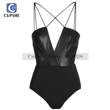 Cupshe Call of Wildness One-piece Swimsuit Summer Sexy Swimsuit Ladies Beach Bathing Suit swimwear