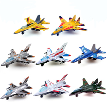 DiBang Plane stylingkids Children alloy back to combat aircraft Military aviation model truck toys for children Free Shipping(China)