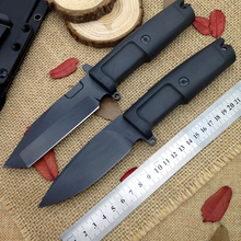 Bairu Best Extrema Ratio Camping Hunting Straight Knife Survival Fixed Blade Knives Tactical EDC Stainless Steel Outdoor Tools(China)