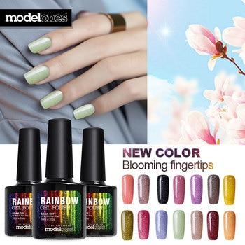 Modelones 10ml UV Gel Nail Polish Neon Color UV Lamp Soak off Gel Polish LED UV Gel Color Nail Gel lacuqer Vanishes Nail Art