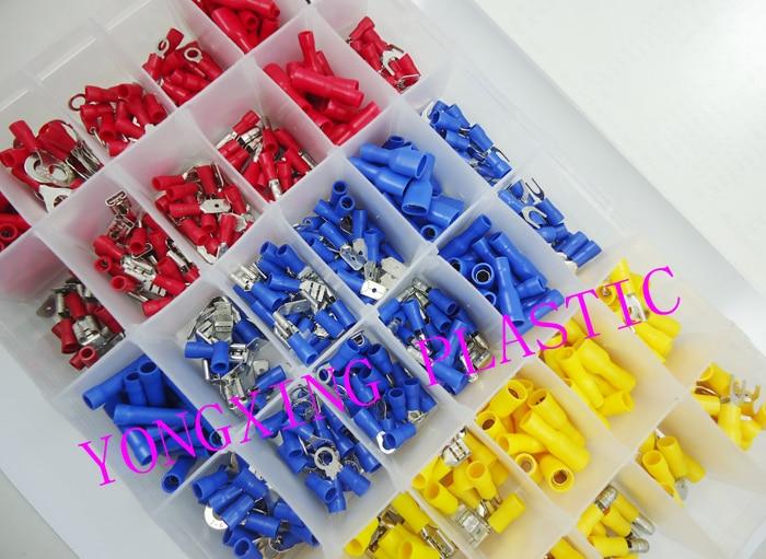 600pcs/box 36 size  Ferrule Kit Electrical Crimp Crimper cord wire end terminal block<br><br>Aliexpress