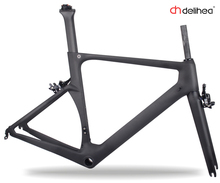 China super light weight Endurance carbon road bike frame with beautiful design high quality frame and high performance(China)