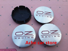 4pcs Free shipping 56mm OZ O.Z car emblem Wheel Center Hub Caps Dust-proof Badge covers