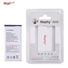2017 Original Nephy Brand BL-5H BL5H BL 5H Battery For Nokia Lumia 630 636 638 635 1830mAh Replacement Mobile Phone Batteries(China)