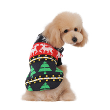 Dog Clothes Pet Sweater Mixed Snowflake Reindeer Christmas Tree Style Winter Clothing for Dogs(China)