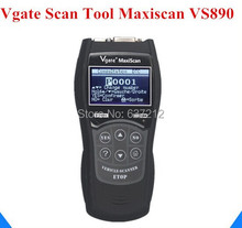 Universal Diagnostic Scanner Multi-language Auto Scantool Vgate Scantool Maxiscan VS890 Free Shipping(China)